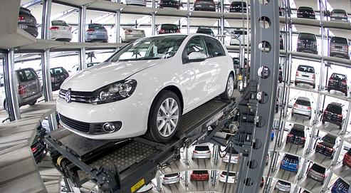 VW lance la production de la Golf VII