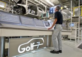 Usine fabrication Golf 7