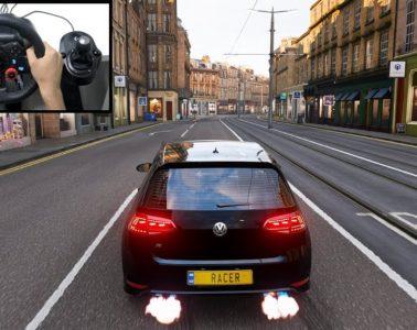 VW Golf 7 Jeux video