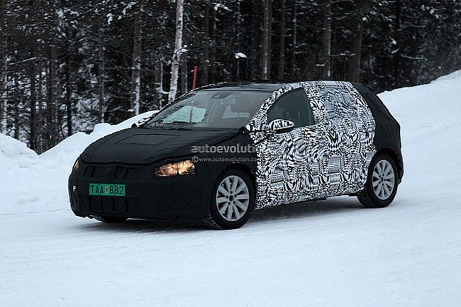Spyshots de la VW Golf 7